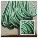 Green/White Crosslace - Premium