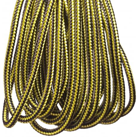Black/Yellow Crosslace - Premium