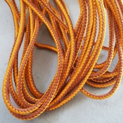 Brown Bootlace - 6/12 Yard Bundles