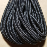 Black Lacrosse Bootlace - Bundles of 6/12 Yards