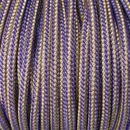 Purple/Vegas Gold Crosslace - Premium