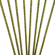 Black/Yellow Lacrosse Sidewall - Premium